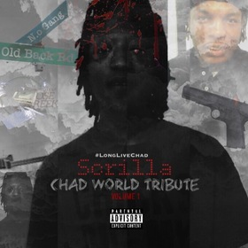 "Scrilla ""ChadWorld Tribute"" Volume 1 MellDopeAF front cover"
