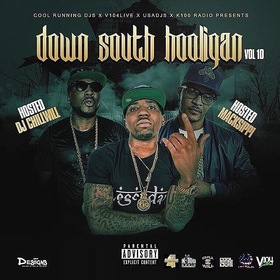 Down South Hooligan Vol. 10 CHILL iGRIND WILL front cover