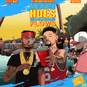 Money, Hoes, & Flows Fetty Wap front cover
