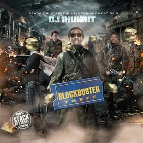BlockBuster 3 DJ 1Hunnit front cover