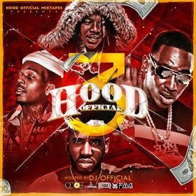 Hood Official Vol. 3 DJ Official front cover