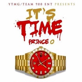 It's Time (EP) Prince O front cover