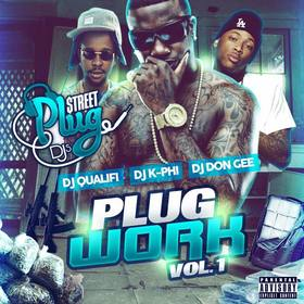 PLUG WORK VOL.1 King K-Phi front cover