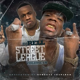 Street League 10 DJ Rell front cover