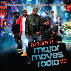 DJ Tony H. Major Moves Radio Vol. 2 DJ Tony H front cover
