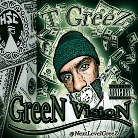 GreeN VisioN EP T GreeZ (NextLevelGreeZ) front cover