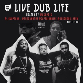 Live Dub Life DUBOHDUB front cover