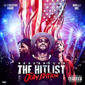 The Hit List (July Edition) Dj Creative Mind front cover