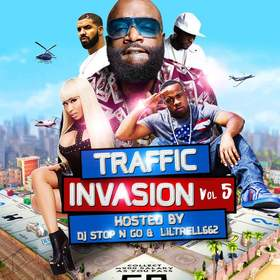 Traffic Invasion Vol.5 DJ Stop N Go front cover