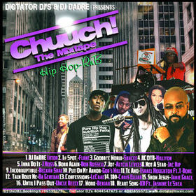 Chuuch! The Mixtape Various Artists front cover