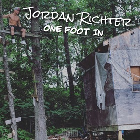 One Foot In Jordan Richter front cover
