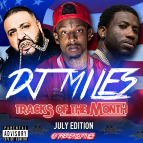 Tracks of the Month (July Edition) (2016) DJ Miles front cover
