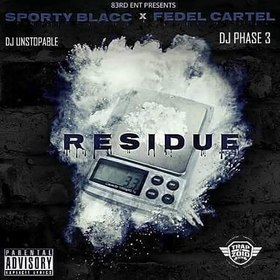 Residue DJ Phase 3 front cover