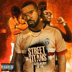 Street Titans DJ S.R. front cover