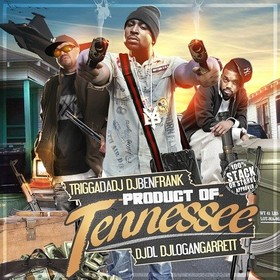 Product Of Tennessee DJ Ben Frank front cover