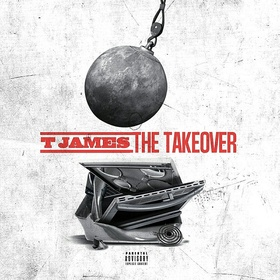 The Takeover T James front cover