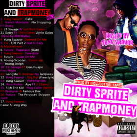 Dirty Sprite And TrapMoney DJ JLott front cover
