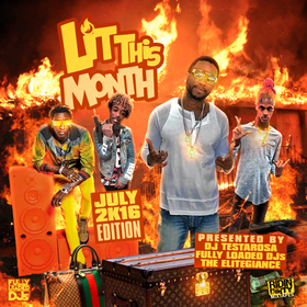 Lit This Month (July 2016) DJ Testarosa front cover