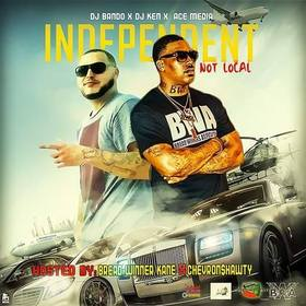 Independent Not Local DJ Konnect  front cover