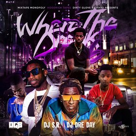 Where The Drank 6 DJ S.R. front cover