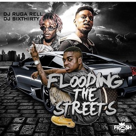 Flooding The Streets DJ Ruga Rell front cover