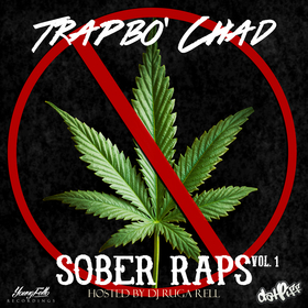 Sober Raps Vol.1 Trapbo' Chad front cover