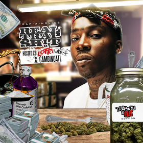Real Trap Sh!t: Trapped It Out Edition (Hosted By Lotto Savage) Trap-A-Holics front cover