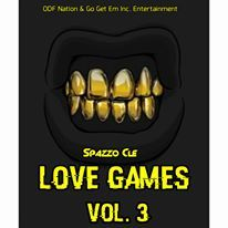 Love Games: Vol. 3 Spazzo front cover