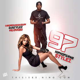 HipHop & Rnb Stylez Vol 97 Various Artists front cover