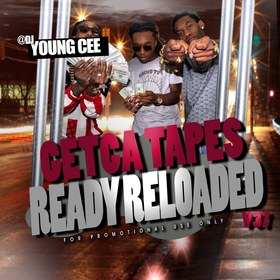 Dj young Cee- Getcha Tapes Ready Reloaded VOL 37 Dj Young Cee front cover