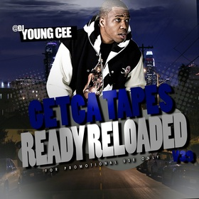 Dj young Cee- Getcha Tapes Ready Reloaded VOL 39 Dj Young Cee front cover
