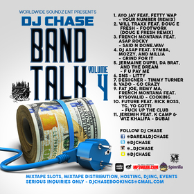 Band Talk Vol. 4 DJ Chase front cover