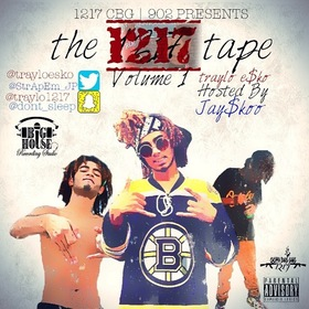 traylo e$ko: The 1217 Tape Volume 1 JAY$KOO front cover