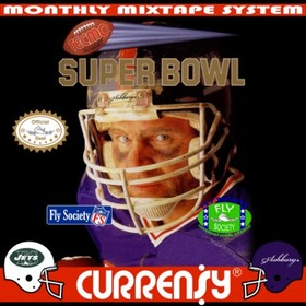Super Tecmo Bowl Curren$y front cover