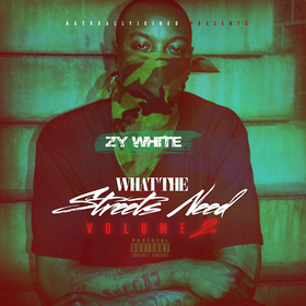 What The Streets Need 2 (Zy White) Dj Tony Pot front cover