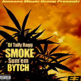 Smoke Sum'em Bytch DJ Tally Ragg front cover
