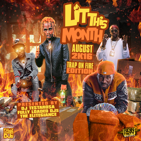 Lit This Month (August 2016) DJ Testarosa front cover
