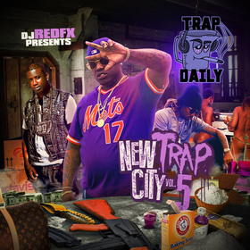 New Trap City 5 Dj RedFx front cover