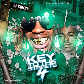 Key To The Streets 4 DJ Smirk front cover