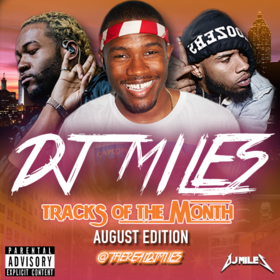Tracks of the Month (August Edition) (2016) DJ Miles front cover
