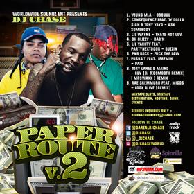 The Paper Route Vol. 2 DJ Chase front cover