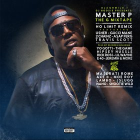The G Mixtape Master P front cover