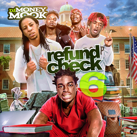 Refund Check 6 DJ Money Mook front cover