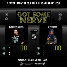 DJ Johnny O & DJ Skroog Mkduk - Got Some Nerve 5 Skroog Mkduk front cover