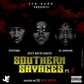 Southern Savages 2 DJ Red Skull front cover