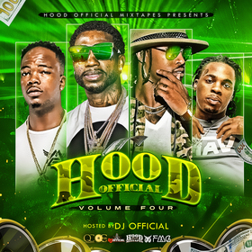 Hood Official Vol. 4 DJ Official front cover