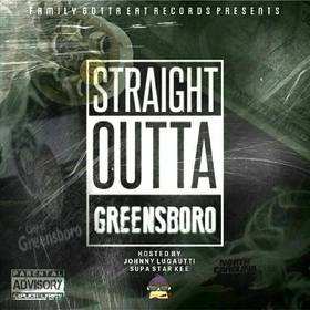 Straight Outta Greensboro Various Artists front cover