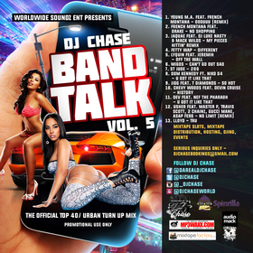 Band Talk Vol. 5 DJ Chase front cover