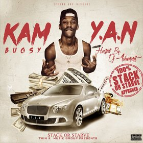 Kam Bugsy - Y.A.N DJ 1Hunnit front cover