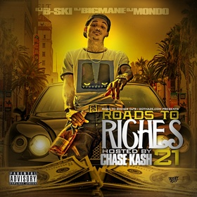 Roads To Riches 21 DJ B-Ski front cover